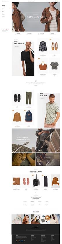 23 - fashion left navigation store