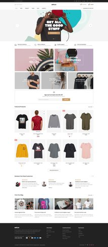 29 - t-shirt store