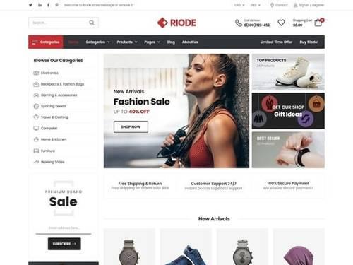 Riode - Ultimate WordPress eCommerce Theme